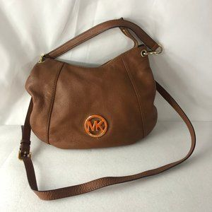 MICHAEL KORS Shoulder Bag Hobo Crossbody Brown